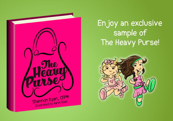 Enjoy an exclusive sample of The Heavy Purse by Shannon Ryan