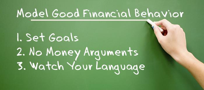 Model Good Financial Behavior