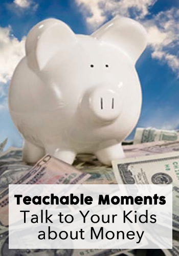 Teachable Moments: Talk to Your Kids about Money | www.TheHeavyPurse.com