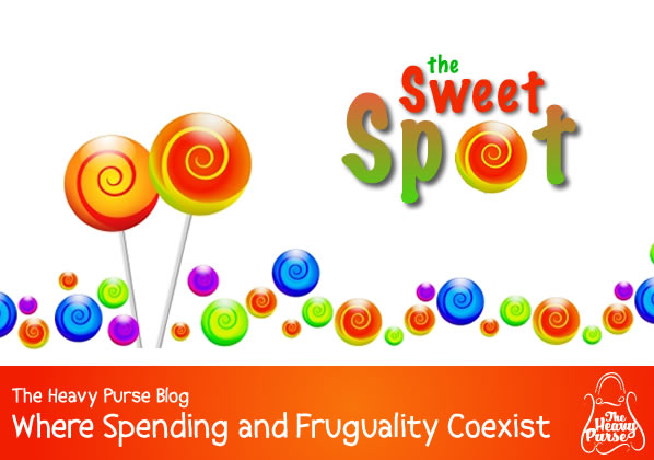 The Heavy Purse Blog: The Sweet Spot - Where Spending and Frugality Coexist