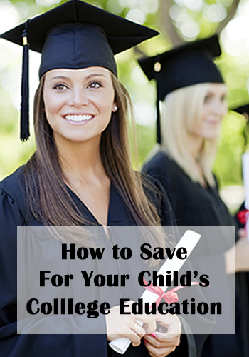 How To Save for Your Child's College Education | www.TheHeavyPurse.com