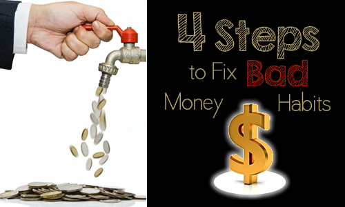 Improve Your Financial Health: Fix Bad Money Habits in 4 Steps and Embrace Living within Your Means