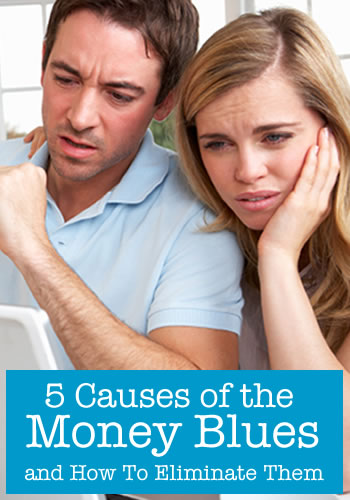 5 causes of the money blues and how to eliminate them   www.TheHeavyPurse.com