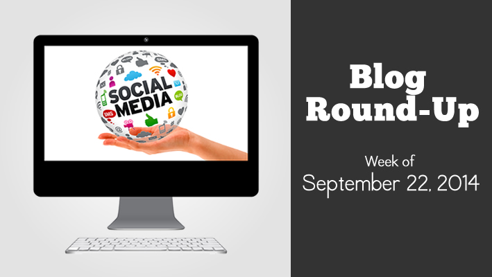 blog roundup: week of September 22, 2014