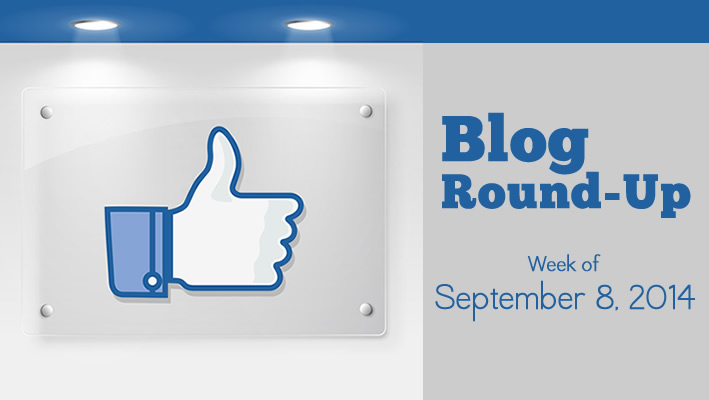 Blog Round-Up: Week of September 8, 2014
