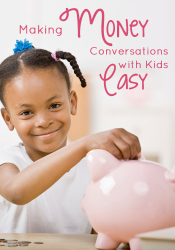 Making Money Conversations with Kids Easy: A Two Step Tutorial | www.TheHeavyPurse.com #kids #money #how-to