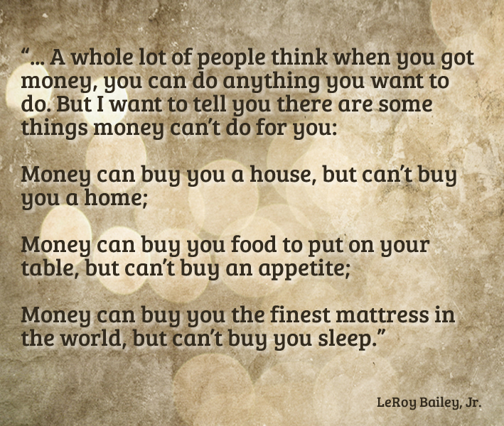 Unlock Your Money Happiness | www.TheHeavyPurse.com