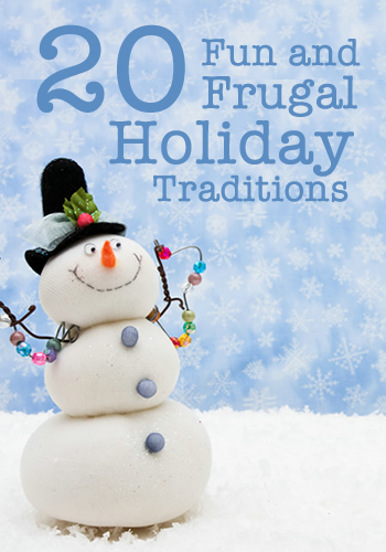 20 Fun and Frugal Holiday Family Traditions | www.TheHeavyPurse.com #Christmas #Traditions #Family