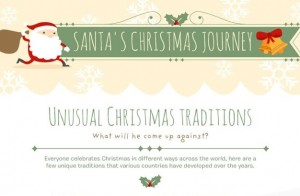 Unusual Christmas Traditions #Infographic