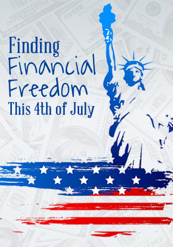 Finding Financial Freedom this 4th of July | www.TheHeavyPurse.com