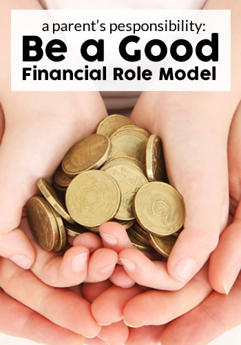 Be a Good Financial Role Model | www.TheHeavyPurse.com